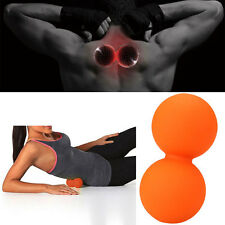 Double Lacrosse Mobility Trigger Point Peanut Massage Cross Ball Exercise