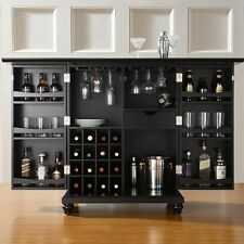 Wine Storage Cabinet Bar Rack Liquor Pub Wood Glass Bottle Wooden Home Furniture