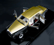 Rolls Royce Phantom LWB 2007 (Gold/Black)1/43