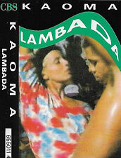 Kaoma Lambada CASSETTE SINGLE Latin Lambada 1989 CBS  655011 4