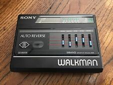 Sony Walkman WM-F80 Cassette Player Tv FM AM Radio Vintage with equalizer