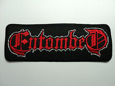 ENTOMBED    EMBROIDERED  PATCH