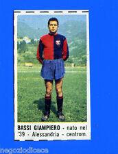 CORRIERE DEI PICCOLI 1966-67 - Figurina-Sticker - BASSI - GENOA -New