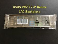 ASUS I/O IO SHIELD BLENDE BRACKET Backplate For P8Z77-V DELUXE Motherboard