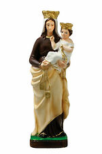 Our Lady of Mount Carmel resin statue cm. 42