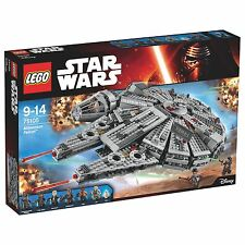 LEGO Star Wars Millennium Falcon Playset with Minifigures 75105 Brand New In Box