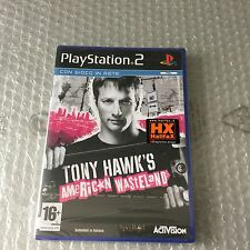 VINTAGE# PS2 PLAYSTATION  TONY HAWK'S AMERICAN WASTELAND #PAL SEALED