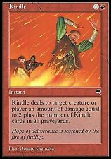 Kindle  EX   PLAYED    x4   Tempest MTG Magic Cards Red