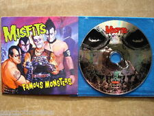 MISFITS - Famous Monsters  ADVANCED CD  Rodarunner RR PROMO 442