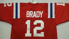 #00 New England Patriots Football Jersey  Your Name&Number -SEWN-ON 5XL -6XL 7XL