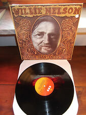 "WILLIE NELSON ""Tougher Than Leather"" LP CBS NETHERLANDS 1983"