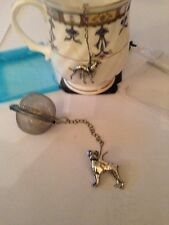 Boxer Dog 2inch Tea Ball Mesh Infuser Stainless Steel Sphere Strainer D8