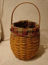 Longaberger 2000 October Fields Basket Combo w/Liner & Protector           a1