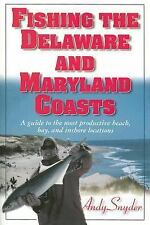 Fishing the Delaware and Maryland Coasts-ExLibrary