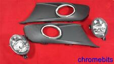 VW TOURAN / CADDY 2010 2011 2012 2013 FOG LIGHTS LIGHT LAMPS & GRILLES KIT