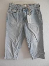 New Junior's L.E.I. Distressed Denim Capri Pants Size 5 NWOT