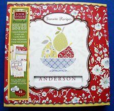Favorite Recipes Personalized Recipe Binder Dena Designs * New Seasons 2012 NEW!
