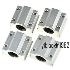 4pcs SC12UU SCS12UU Linear Ball Bearing Motion Bearing 12mm Pillow Block Tested