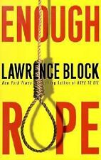 Enough Rope : Collected Stories by Lawrence Block (2002, Hardcover)