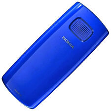 Nokia X1-00 Original Akkudeckel Blau Battery Cover Blue Akkufachdeckel Deckel