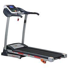 Sunny Health & Fitness TREADMILL, 2.20 Peak HP Drive System TREADMILL, Gray