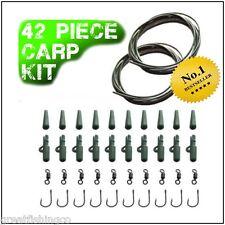 Pesca Carpa Rig Tackle Kit - 42 Pezzi-Ganci di teflon CONI si muove
