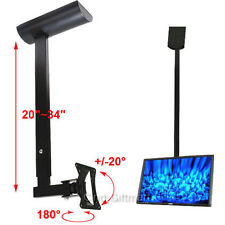 Tilt Ceiling Mount TV Monitor Bracket 19 22 23 24 26 27 28 29 LED LCD Swivel CYL
