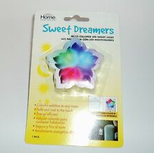 HOME LUMINAIRE Sweet Dreamers Multi Colored Led Night Light STAR NIP