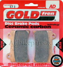YAMAHA XVZ 1300 TF VENTURE STAR (1999)   SINTERED REAR BRAKE PADS *GOLDFREN*