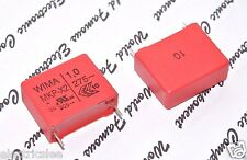 5pcs - WIMA MKP-X2 1uF (1µF) 275Vac 10% pitch:22.5mm RFI X2 Capacitor