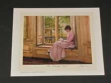 Alan Maley - Window Seat  - Collectible Limited-edition Print