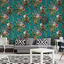 Lemuro Wallpaper-Cerceta-Holden 12402 Imaginarium Bosque Nuevo