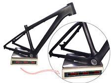 Ultralight 26er Carbon MTB Frame Mountain Bike Frame headset BB 3k matt Frames