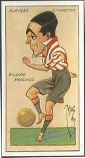 "PLAYERS 1927 FOOTBALL CARICATURES BY ""MAC""- #28-SOUTHAMPTON-WILLIAM RAWLINGS"