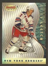 BRIAN LEETCH 1995-96 Bowmans Best hockey #BB14 REFRACTOR New York Rangers NHL **