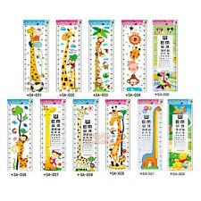 P4PM Giraffe Removable PVC Wall Decal Stickers Kids Baby Growth Height Chart Me