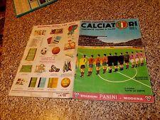 ALBUM CALCIATORI PANINI 1964-65 1965 COMPLETO ORIGINALE MB/OTT TIPO MIRA RELI