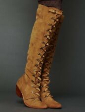 New Free People Women's  Johnny Tall Boot Suede - sz 6