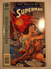 The Death of Superman Trade Paperback Second Printing 1993