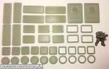 HC3D - Bits Multi Pack 40 Pieces - Building Bits - Wargames - Terrain - Scenery