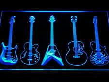Guitar Weapons Band Room LED Neon Sign Man Cave C099-B
