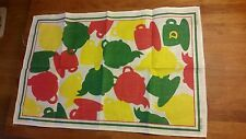 Vintage 1970's Brooke Bond D Patterned Tea Towel – Kitchenalia – Retro!  –