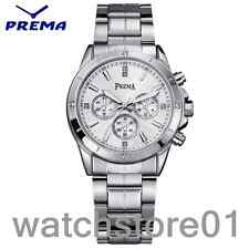 TOP New Stainless Steel Band Watches Luxury Analog  Men's Waterproof Wrist Watch