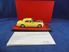 Scarce CMR Precision Models Rolls Royce 101EX in Yellow/silver one of 299