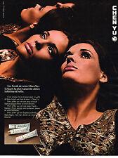 PUBLICITE ADVERTISING  1969   CHEN YU   cosmétiques
