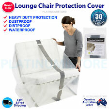 2 x Lounge Arm Chair Sofa Protection Cover  Dust Mould Damage Storage Bag