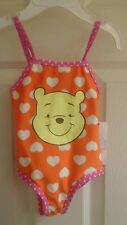Disney Winnie-the-Pooh infant girl 1piece bathing suit,  6-9 months UPF+50, NWT