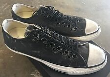 Converse X John Varvatos CT Multi Eyelet Black Turtle Sz 7 NIB All Star