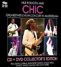 NILE RODGERS & CHIC GREATEST HITS LIVE CD & DVD Collectors Edition NEW SEALED