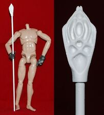 """Staff for Medieval Knight  1/6 scale 12"""" Action Figure Man.Dragon BBI LOTR"""